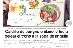 Chile Newspaper